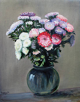 Asters by Paul Walsh
