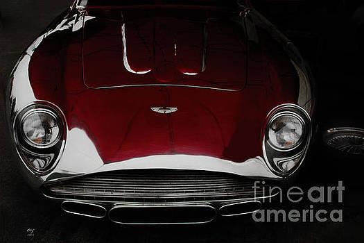Aston Martin DB-4 sans paint by Curt Johnson
