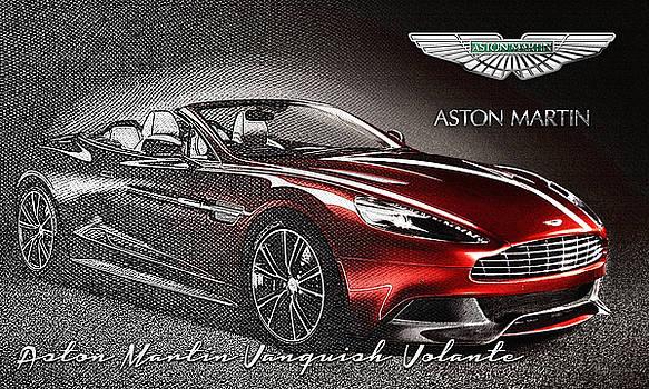 Serge Averbukh - Aston Martin Vanquish Volante