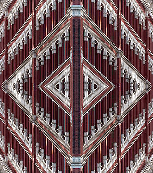 Astor Place Building Double Palindrome by Steve Rosenbach