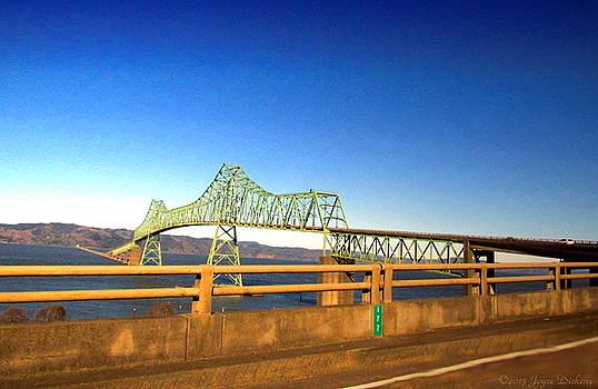 Joyce Dickens - Astoria Megler Bridge Drive By Shot