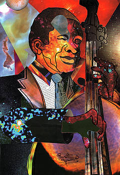 Astro Bassist by Everett Spruill