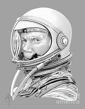 Astronaut John Glenn by Murphy Elliott