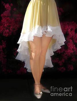 Sofia Metal Queen - Asymmetrical skirt. Ameynra fashion
