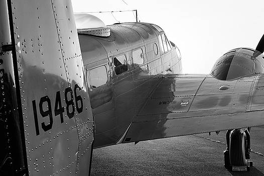 AT-11 in Black and White - 2017 Christopher Buff, www.Aviationbuff.com by Chris Buff