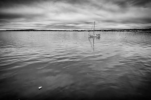 At Anchor in the Harbor by Rick Berk
