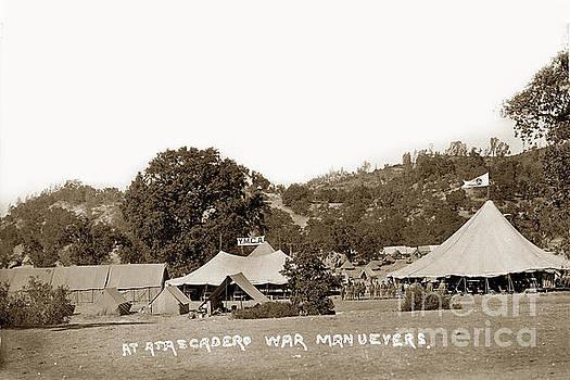 California Views Mr Pat Hathaway Archives - At Atascadero War Manuevers Circa 1915