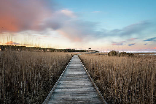 At Bodie Island Lighthouse by Nick Noble