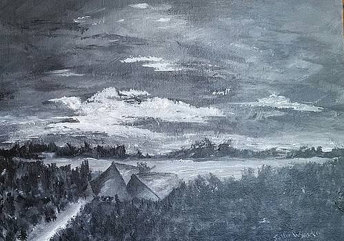 A Walk by the Lake by Sallie Wysocki