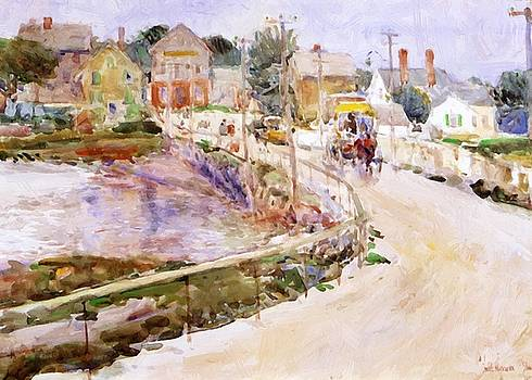 At Gloucester by Hassam Childe