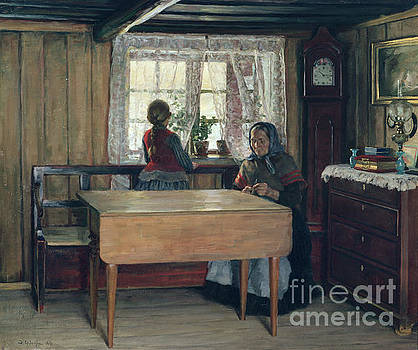 At grandmothers by Jacob Gloersen