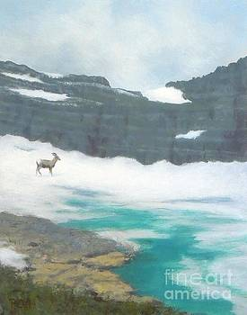 At Grinnell Glacier by Phyllis Andrews
