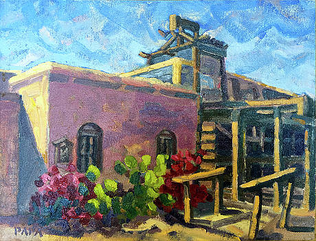 At Old Tucson by Ralph Papa