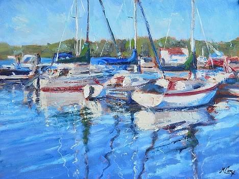 At Presque Isle Marina by Michael Camp