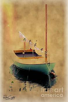 At Rest On The Sea by Rene Crystal