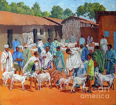At Saturday Market by Yoseph Abate