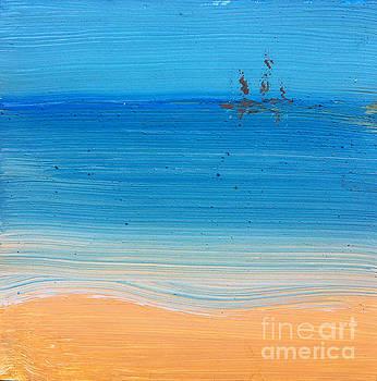 At The Beach Again... by Michelle Deyna-Hayward