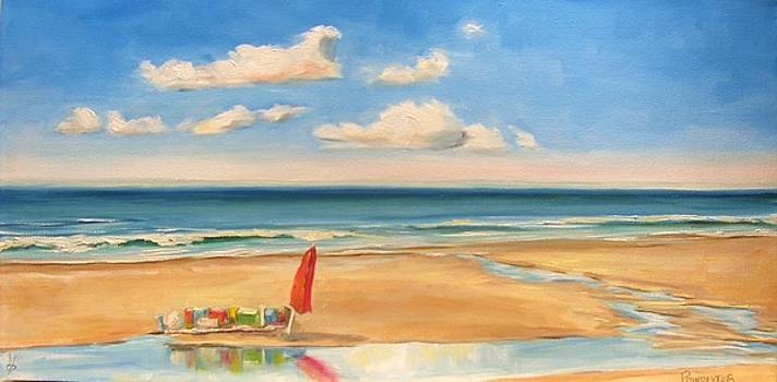 At the Beach by Dianna Poindexter