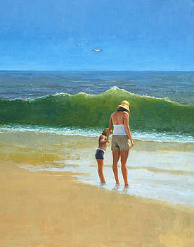 At The Beach by Mel Greifinger