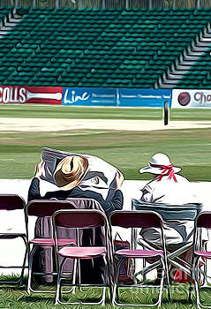 At the Cricket match by Andrew Michael