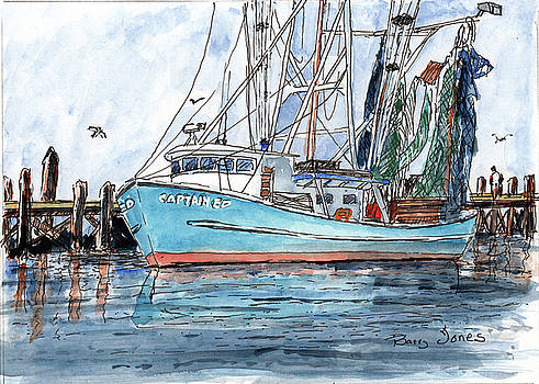 At The Dock by Barry Jones