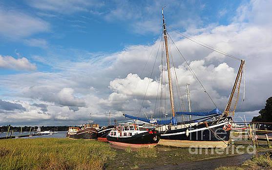 Svetlana Sewell - at the docks