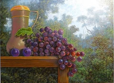 At the Edge of the Vineyard by Jim Stratton
