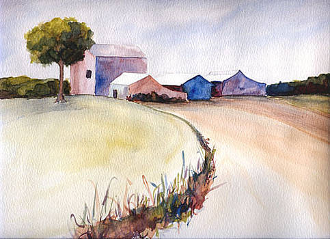 At the farm by Randi Veiberg