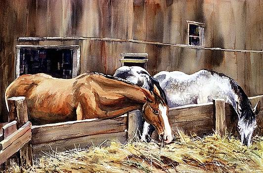 At The Feed Bank by Connie Williams