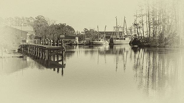 At the Harbor by Chris Modlin