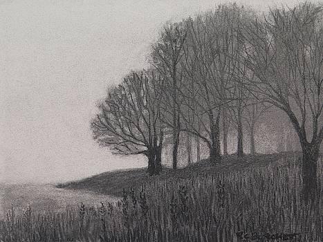At the Lakes Edge by Regina Calton Burchett