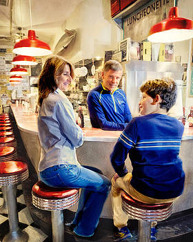 At the Luncheonette by Vicki Jauron