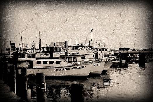 At The Marina - Jersey Shore by Angie Tirado