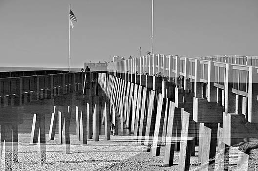 At the Pier by Susan Leggett