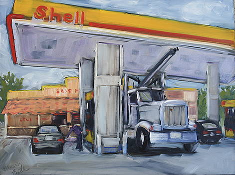 At the Pump by Mary Beth Harrison