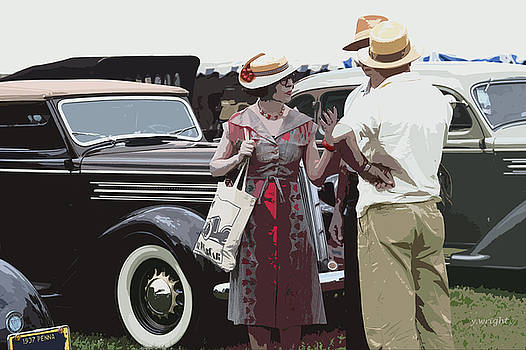 At The Races, 1937 Style by Yvonne Wright