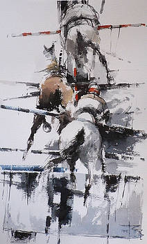 At the Races 3 by Tony Belobrajdic