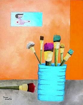 At The Studio by Isaac Alcantar