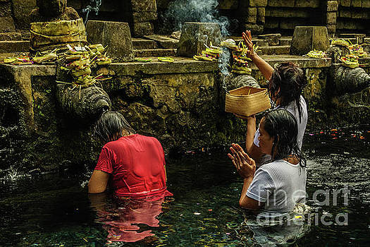 At the Temple 1 by Werner Padarin