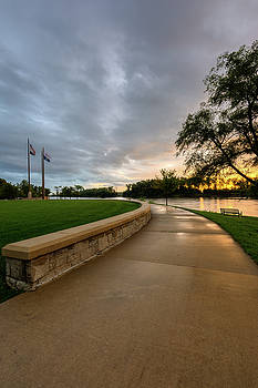 Atchison River Walk by Mark McDaniel