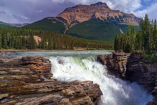 Athabasca Falls by Heather Vopni