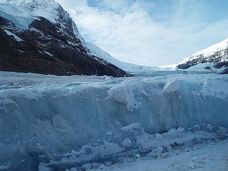 Athabasca Glacier 2 by Gilbert Pennison