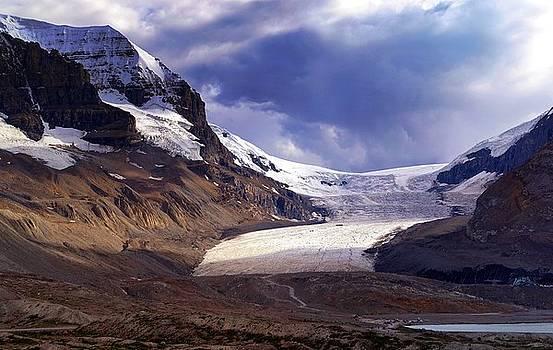 Athabasca Glacier by Heather Vopni