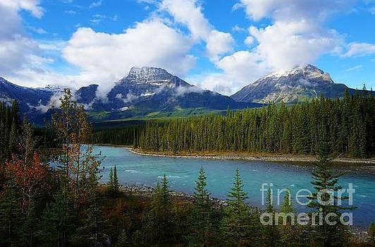 Wayne Moran - Athabasca River Hwy 93 Jasper to Icefields Parkway Jasper National Park Alberta Canada