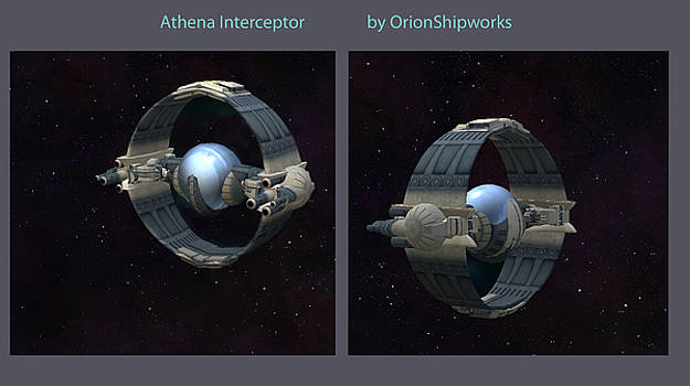 Athena Interceptor by Don Perino