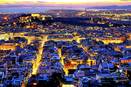 Athens by Fabrizio Troiani