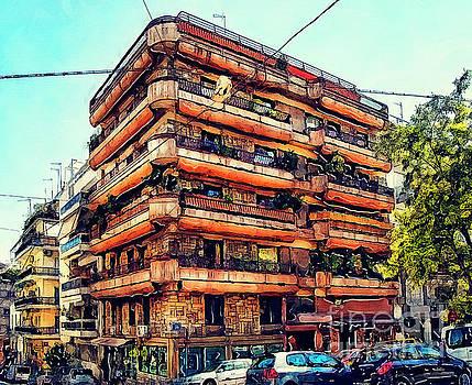 Justyna Jaszke JBJart - Athens house