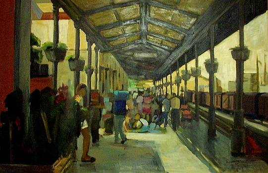 Athens Larissa railway station by George Siaba