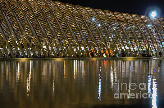 Bob Phillips - Athens Olympic Bridge and Reflection