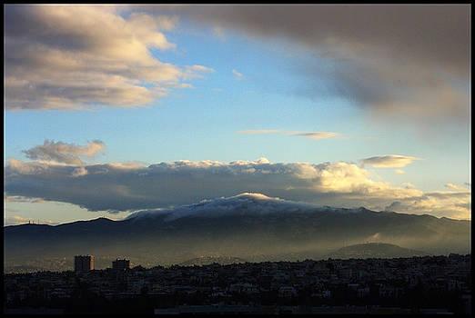 Athens Sunrise by Julia Bridget Hayes